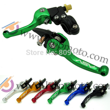 Pit Bike ASV clutch and brake folding lever 6 colour for dirt pit bike spare parts option free shipping(China)