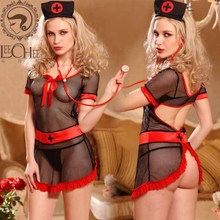 Buy Leechee Y011 women hot sexy lingeir hollow temptation Teddy sexy erotic underwear lenceria sexo porn costumes +BOW+patchwork