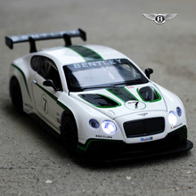 NEW hot 1:32  Bentley GT Bentley Motors Limited GT Toys Car Classic Alloy Antique Car Model collectors Christmas gift doll