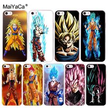 Buy MaiYaCa DRAGON BALL Z Super Saiyan God Luxury PC Phone Case Apple iPhone 8 7 6 6S Plus X 5 5S SE 5C 4 4S Cover for $1.29 in AliExpress store