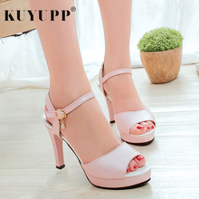 Buy Peep Toe Fashion Platform Thin Heels Pumps Women Summer Casual Beach High Heel Ladies Shoes Sexy Sandals Footwear KAS5747 for $13.51 in AliExpress store