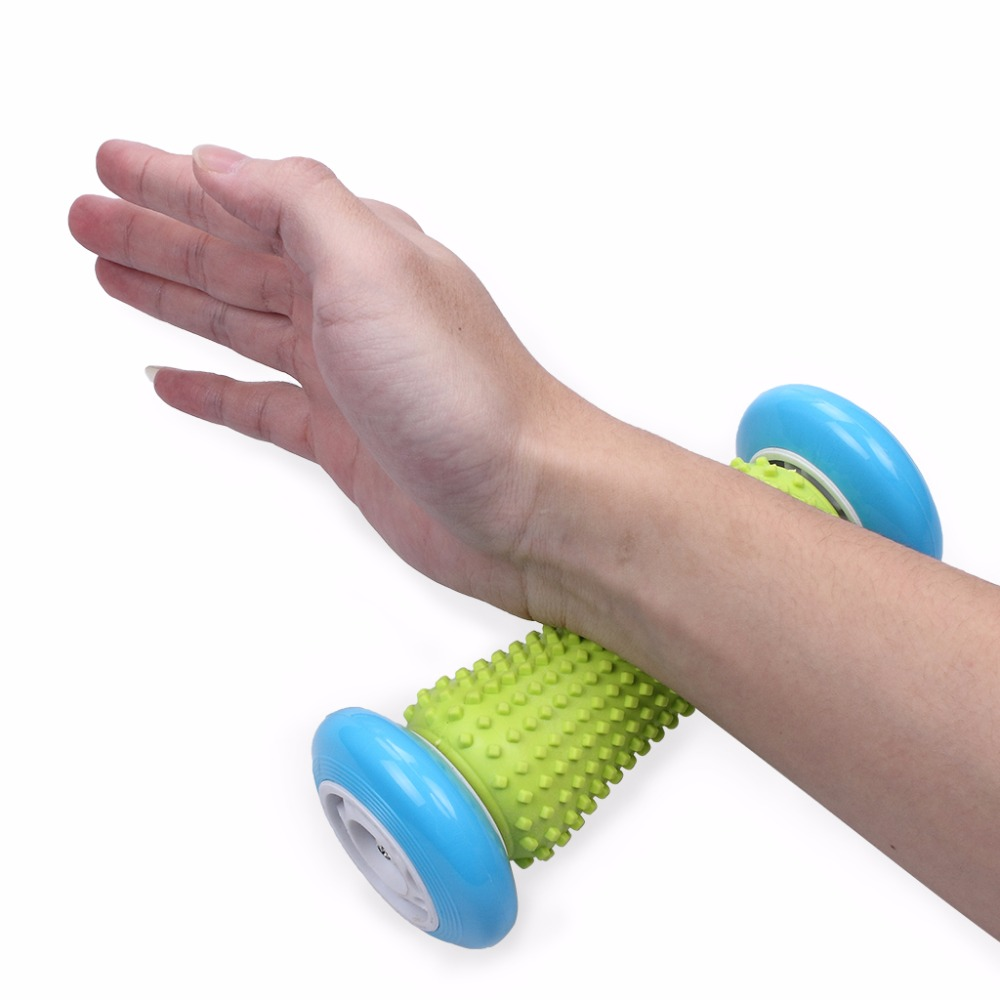 Foot Hand Massage Roller Trigger Point Deep Tissue Physical Therapy For Plantar Fasciitis Heel Foot Arch Pain Relief Yoga Fitness (6)