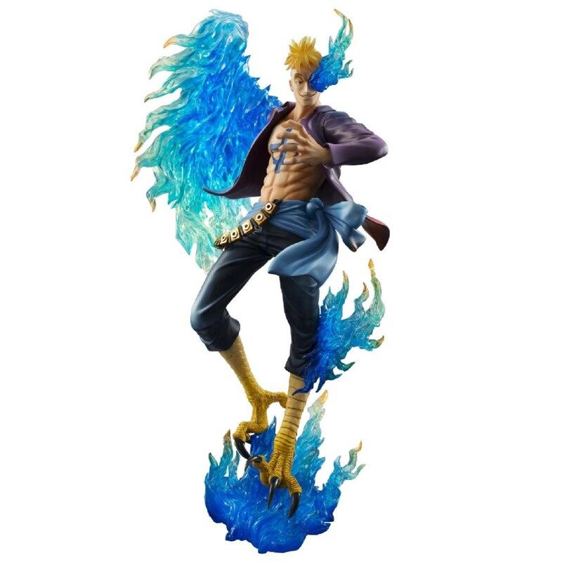 One Piece P.O.P POP DX MAS Marco - The Phoenix Battle Ver. Boxed PVC Action Figure Collection Model Toy 25cm<br>