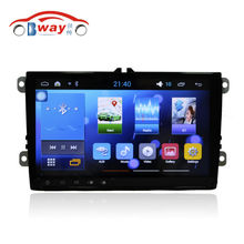 "Bway 9"" car radio for Volkswagen Magotan Touran Golf Bora Sagitar android 5.1 car dvd player with SWC,wifi,Mirror link,DVR"