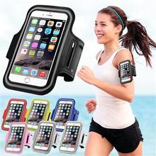 Armband Wrist Phone Case Cover Running Jogging Pouch Brassard Sport Bag For iPhone 6 6S Samsung S6 Edge Google/Xiaomi/Huawei 5""