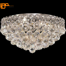 high quality modern crystal ceiling light living room bedroom lamparas de techo abajur