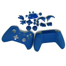 New Blue Protective Case Cover Skin Shell Bottons Kit For Microsoft Xbox One Wireless Controller Replacement