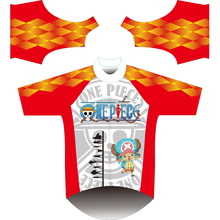 2017 men cycling clothing  KID short sleeves One piece cycling jersey ropa ciclismo  novelty cycling jersey Tony Tony Chopper