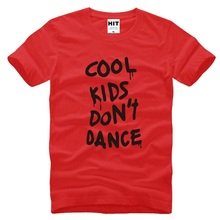 One Direction 1D T Shirts Men Fashion Cotton Short Sleeve Rock Music Men's T shirt Cool Kids Don't Dance Music Male Tee Shirts