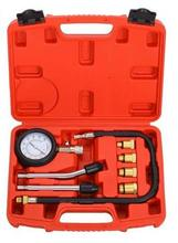 Top Quality Petrol Engine Cylinder Compressor Gauge Meter Pressure Compression Tester Leakage Diagnostic/ Diagnosis Tool Set