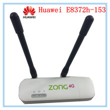 Открыл Huawei e8372 e8372h-153 (плюс пара антенны) LTE USB Wingle LTE Универсальный 4G Wi-Fi модем dongle автомобилей, Wi-Fi PK E3372(China)
