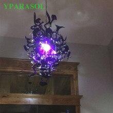 Modische 120 V/240 V Led Lampen Cute Flower Lampe Murano Glas Kronleuchter  Für Mädchen Zimmer
