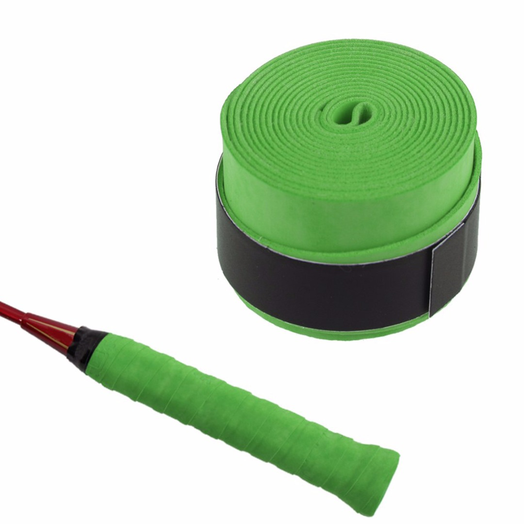 Anti-slip Racket Handle Tape Over Grip Sweat band Griffband Tennis Overgrips Tape Badminton Racket Sports Squash Tape Belt