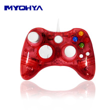 Controller with LED lights For XBOX 360 Controle Wireless Gamepad Joystick For Official Microsoft XBOX360 Game Controller