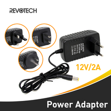 Led Strips Lights AC 100-240V to DC 12V2A EU / US / UK / AU Plug AC DC Power Adapter Charger CCTV Power Supply Adapter(China)