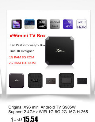 image for Mesuvida TX3 Mini TV Box S905W 2.4GHz WiFi Android 7.1 1G RAM 16GB ROM