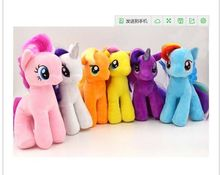 6pcs/lot 28cm minecraft my cute lovely little horse Plush toys poni doll toys for Children Funko POP Toys free shipping