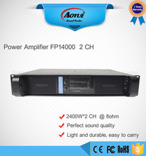 Fp14000 Powerful PRO PA Subwoofer Amplifier(China)