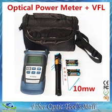 High Quality Ruiyan RY3200A Fiber Optical Power Meter and Fiber Optic Laser Pen Tester Visual Fault Locator 10mw 10KM(China)