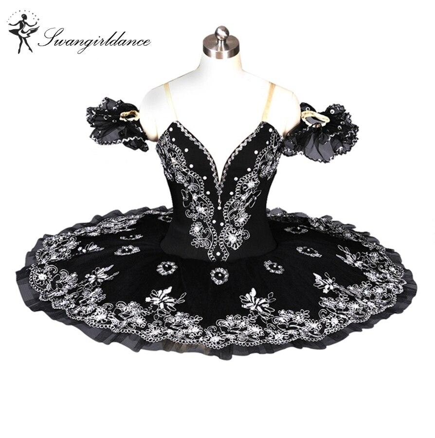 Free shipping,Black Swan Lake Ballet Tutu,Classical ballet tutu,black professional ballet tutu,blue ballet tutus adult BT8973