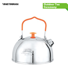 BRS-TS06/BRS-TS07 Stainless Steel Tea Pot Camping Kettle Outdoor Water Kettle New Arrival Camping pot Kettle Outdoor Cookware(China)
