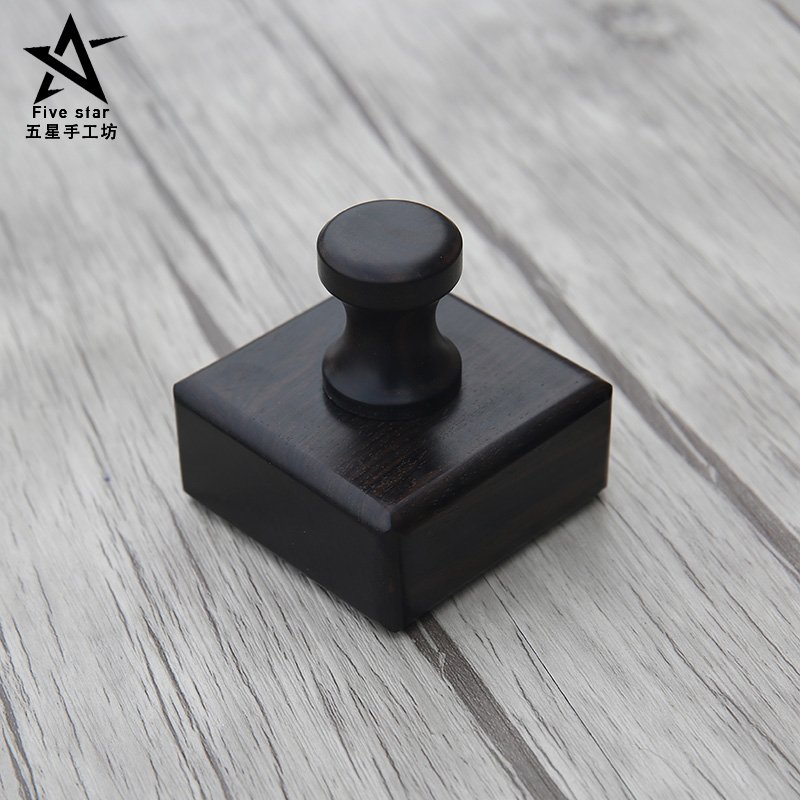 Handmade Leather Grinding Polish blocks Carving Edge Burnish Grinding Block Purple Sandalwood Sanding Block Tanned Leather<br><br>Aliexpress