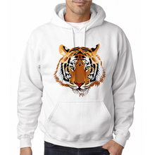 Hot Sale Tiger Printed Fashion Design Men's Hoodies Funny Hipster Male Cool Hoodie Boy's Casual Printed Tracksuit(China)