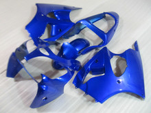 Injection mold Fairing kit for KAWASAKI Ninja ZX6R 00 01 02 ZX 6R 2000 2001 2002 Blue Motorcycle Fairings set+7gifts KF02