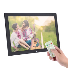 "18.5"" Digital Photo Frame 1366 * 768 LED with Remote Control Support Multiple Languages Video Clock Alarm Calendar Functions"