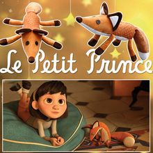 1pc 42cm The Little Prince Plush Dolls, The Little Prince and the Fox Stuffed Animals Plush Education Toys for Baby Nice Gift