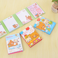 1 Pc Cute Animal 4 Fold Notes This Student Memo And School Office Supplies