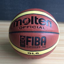 Size6 Molten gl6 Basketball Ball GL6 Teenager basket topu Basketball Training Ball Free Gifts with Net&Pin For Hot Sale(China)