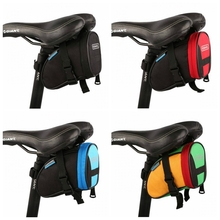 Buy Outdoor Bike bicycle Saddle Bag Pouch Cycling Seat Bag / ROSWHEEL Bicycle Tail Bag free 4 Colors for $6.36 in AliExpress store