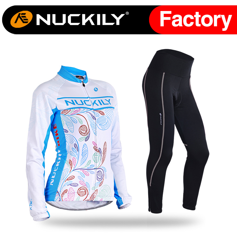 Nuckily summer Women Cycling Clothes Long Summer Sleeve Bike Jersey With 3D Foam Pad Cycling Tight GH003GM001<br><br>Aliexpress