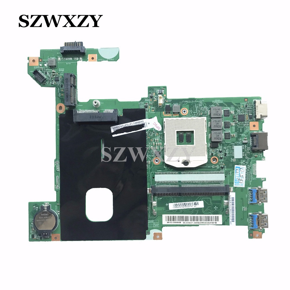 High Quality For Lenovo G580 Laptop Motherboard MainBoard 48.4WQ02.011 90001127 HM76 DDR3 Full Tested Free Shipping