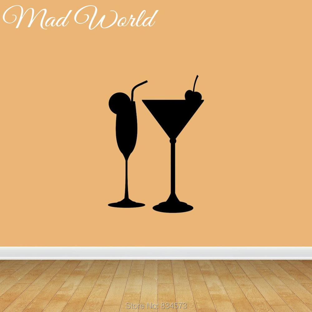Amazing Wine Glass Wall Decor Photos - The Wall Art Decorations ...