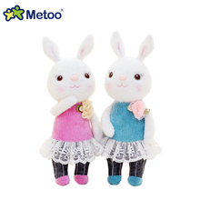 22cm Kawaii Metoo Cute Rabbit plush toys Doll Key Chain bag Pendant plush toys