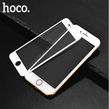 HOCO for Apple iPhone 7 8 PLUS 3D Tempered Glass Film 9H Screen Protector Protective Full Cover for Touch Screen Protection(China)