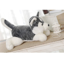 Original 23cm Kawaii Jumbo Husky Baby Soft Plush Toy Full Animal Animal Child PP cotton Doll Gift high quality(China)