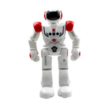 2017 Utoghter Smart Robot Intelligent Programming Gesture Sensor Singing Dancing Display Candy Action Figure Robots Toy For Kids(China)
