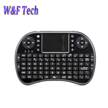10pcs Fly air mouse I8 2.4G mini wireless keyboard for android tv box laptop smart tv mini PC i8 remote control(China)