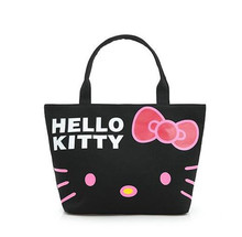 Brand fashion Handbag Silicone jelly bag Boutique tote Hello kitty bag transparent Lovely girl bag Casual Clutch shopper bag(China)