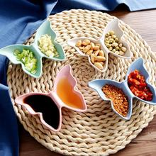 1Pc Multifunction Sauce Dish Butterfly Shaped Seasoning Rack Seasoning Box Storage Container Condiment Jars Kitchen Accessories(China)