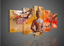 wholesale handmade Buddha oil Painting On Canvas for Decor from China (unframed)