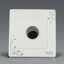 Free Shipping, Kempinski Luxury Wall Timer Switch, Ivory White, Touch Time Delay Switch, AC 110~250V