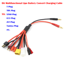 Multifunctional Lipo Battery Multi Charger Plug Convert Cable Transfer Line RC Hobbies Accessories For IMAX B6 Charger