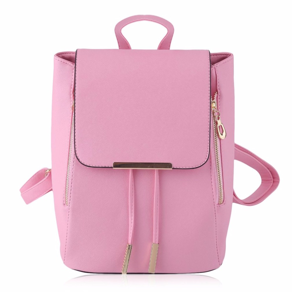Fashion Student Backpack For Girl Teenager Women Leather Rucksack Backpack Female From The Shoulder Laptop With High Quality Hot<br>