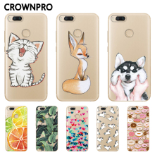 Buy CROWNPRO Xiaomi Mi A1 Case Soft TPU Silicone Cases Xiaomi Mi 5X Mi5X Back Cover mi a1 Transparent Protector Phone Case for $1.20 in AliExpress store