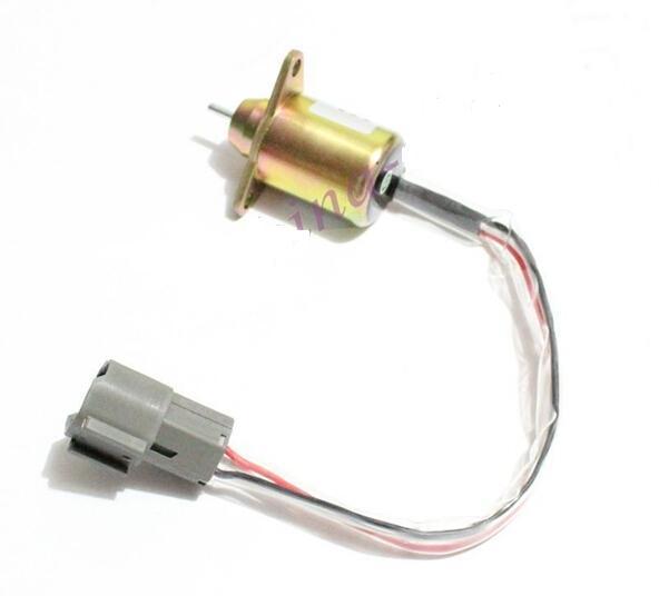 Fuel Shut Off Down Stop Solenoid 1503ES-24S5SUC12S 24 Volt Diesel Engine<br><br>Aliexpress