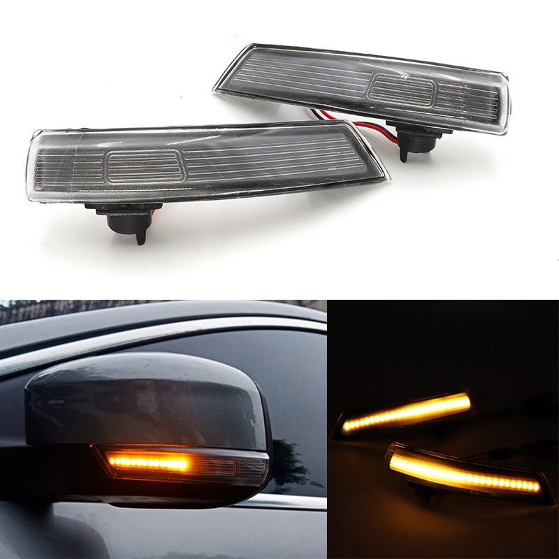 Outside Wing Mirror Turn Signal Indicator Repeater Lens Right LED